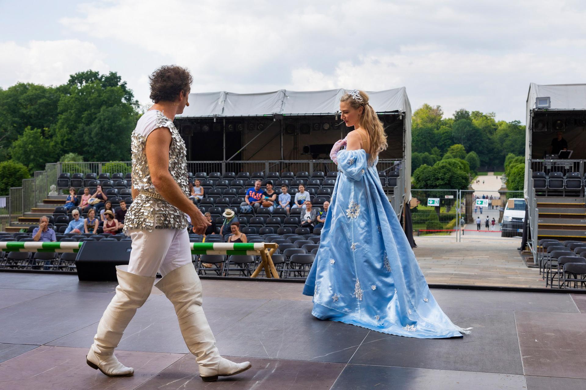 Landesbühnen Sachsen - Schloss Moritzburg - Aschenbrödel Premiere 2021