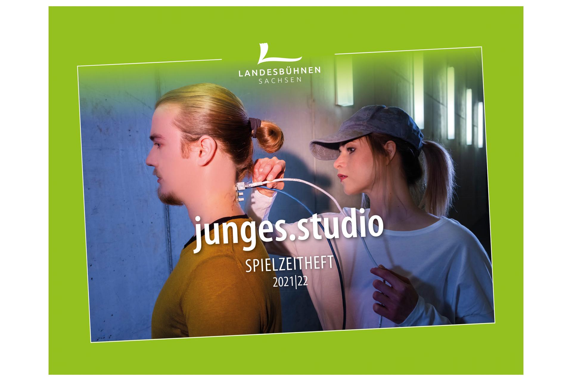 Landesbühnen Sachsen - Junges Studio Spielzeitheft